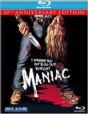 Maniac: 30th Anniversary Edition (Blu-ray Disc)