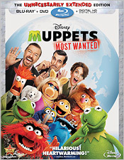 Muppets Most Wanted (Blu-ray Disc)