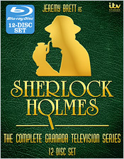 Sherlock Holmes: The Complete Series (Blu-ray Disc)