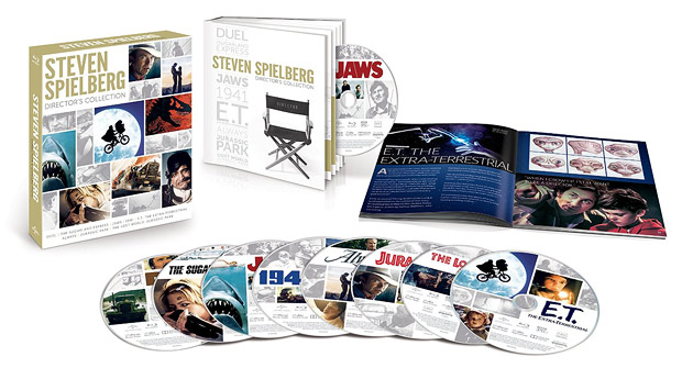 The Steven Spielberg Director's Collection (Blu-ray Disc)