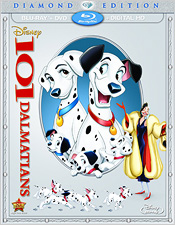 101 Dalmatians: Diamond Edition (Blu-ray Disc)