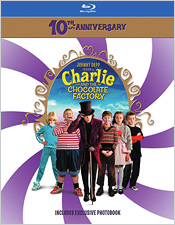 Charlie and the Chocolate Factory: 10th Anniversary Edition (Blu-ray Disc)