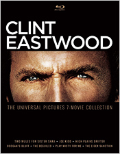 Clint Eastwood: Universal 7 Film Collection (Blu-ray Disc)
