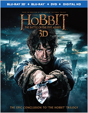 The Hobbit: The Battle of the Five Armies (Blu-ray 3D)