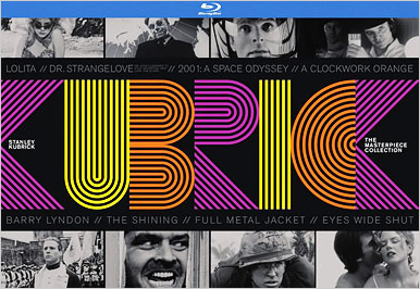 Stanley Kubrick: The Masterpiece Collection (Blu-ray Disc)