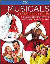 Musicals 4-Film Collection (Blu-ray Disc)