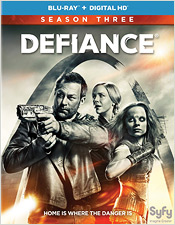 Defiance: Season Three (Blu-ray Disc)