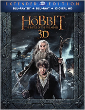The Hobbit: The Battle of the Five Armies - Extended Edition (Blu-ray 3D)