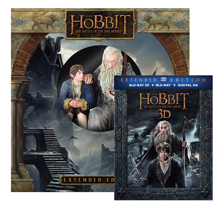 The Hobbit: The Battle of the Five Armies - Extended Edition (Blu-ray 3D WETA Amazon exclusive)