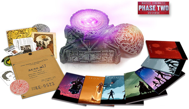 Marvel Cinematic Universe: Phase Two (Blu-ray 3D/Blu-ray)