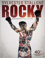 Rocky Heavyweight Collection: 40th Anniversary Edition (Blu-ray box set)
