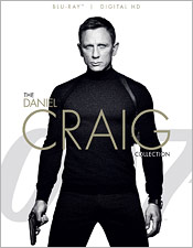 007: The Daniel Craig Collection (Blu-ray Disc)