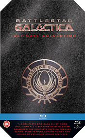 Battlestar Galactica: Ultimate Collection (ALL REGION - includes Caprica - Blu-ray Disc)