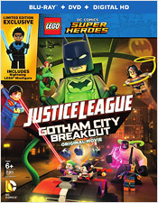 LEGO Justice League: Gotham City Breakout (Blu-ray Disc)