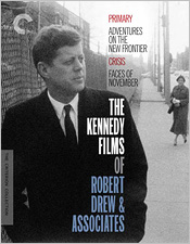 The Kennedy Films of Robert Drew & Associates (Criterion Blu-ray Disc)
