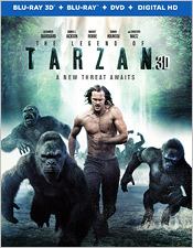 The Legend of Tarzan (Blu-ray 3D)