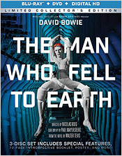 The Man Who Fell to Earth: Limited Edition (Blu-ray Disc)