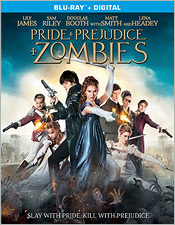 Pride and Prejudice and Zombies (Blu-ray Disc)