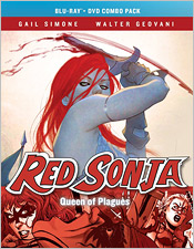 Red Sonya: Queen of Plagues (Blu-ray Disc)