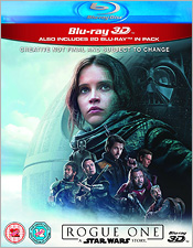 Rouge One: A Star Wars Story (Region B Blu-ray/Blu-ray 3D)