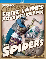 Fritz Lang's The Spiders (Blu-ray Disc)