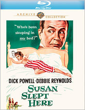 Susan Slept Here (Blu-ray Disc)