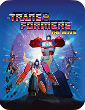 Transformers: The Movie (Steelbook Limited Edition Blu-ray Disc)