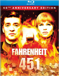 Fahrenheit 451: 50th Anniversary Edition (Blu-ray Disc)