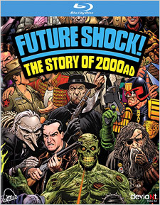 Future Shock: The Story of 2000AD (Blu-ray Disc)