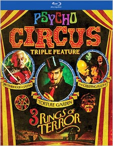 Psycho Circus Triple Feature (Blu-ray Disc)