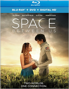 The Space Between Us (Blu-ray Disc)