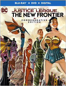 Justice League: The New Frontier - Commemorative Edition (Blu-ray Disc)