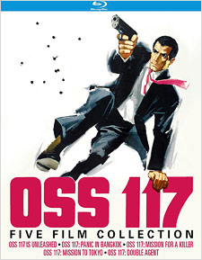 OSS 117: Film Collection (Blu-ray Disc)