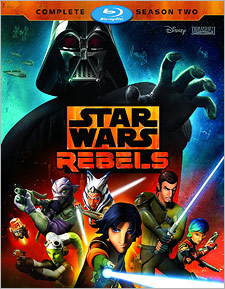 Star Wars: Rebels – Complete Season Two (Blu-ray Disc)