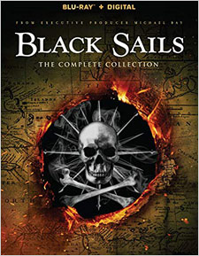 Black Sails: The Complete Series (Blu-ray Disc)