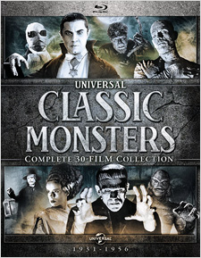 Universal Classic Monsters: Complete 30-Film Legacy Collection (Blu-ray Disc)