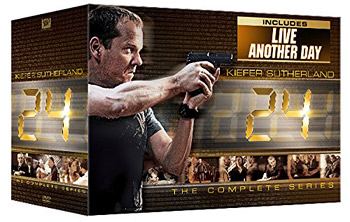 24: The Complete with 24: Live Another Day (DVD Box set)