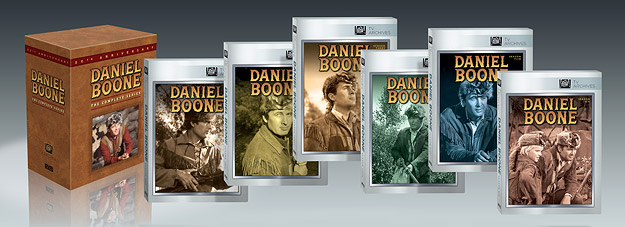 Daniel Boone: The Complete Series (DVD)