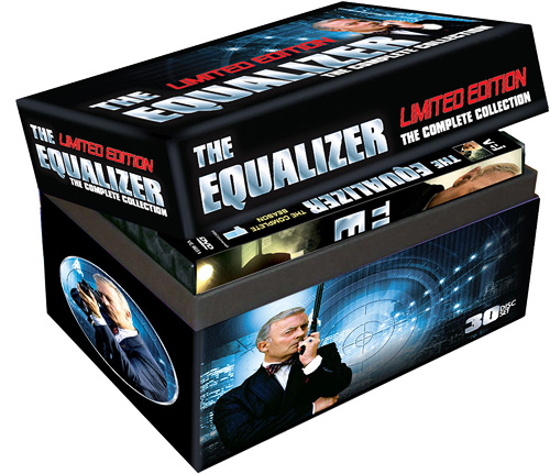 The Equalizer: The Complete Series (DVD)