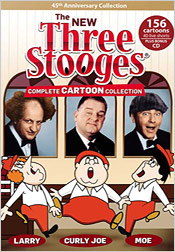 The New Three Stooges: Complete Cartoon Collection (DVD)