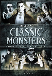 Universal Classic Monsters: The Complete 30-Film Collection (DVD)