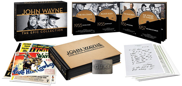 John Wayne: The Epic Collection DVD box set