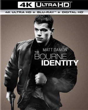 The Bourne Identity 4K Ultra HD Blu-ray