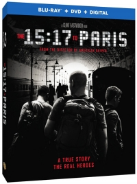 The 15:17 to Paris (Blu-ray Disc)
