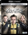 X-Men: First Class 4K UHD Blu-ray