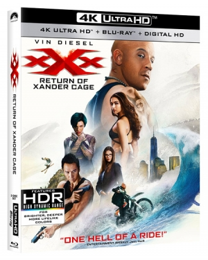 xXx: Return of Xander Cage (Blu-ray Disc)