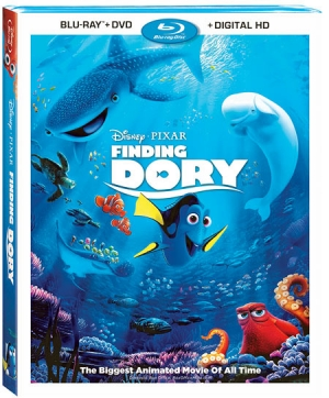 Finding Dory (Blu-ray Disc)
