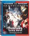 Captain America: Civil War Blu-ray 3D