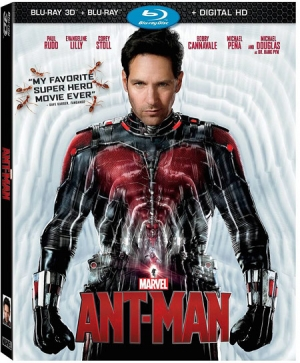 Ant-Man Blu-ray 3D Combo