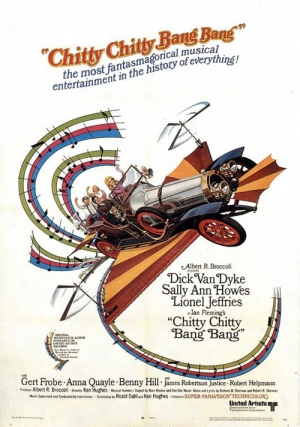 Chitty Chitty Bang Bang one sheet